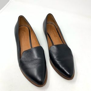 Madewell Loafers Black Size 6